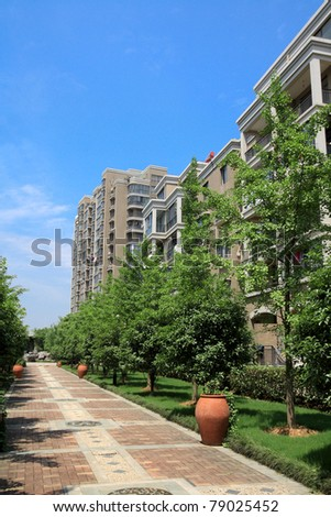 beautiful residential community,quiet and comfortable environment