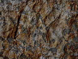 Beautiful rock of the patchy pattern