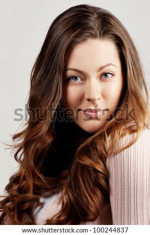 Beautiful Romantic Woman portrait