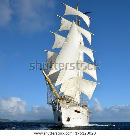 Beautiful sailboat