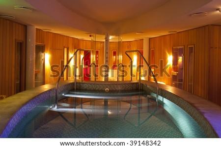 Beautiful sauna center