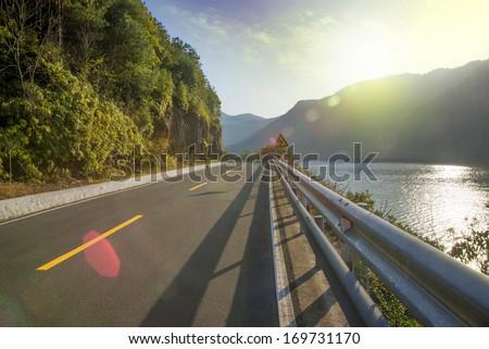 Beautiful scenery of the coastal road #169731170