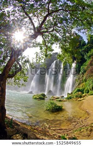Beautiful scenery of Vietnam. Beautiful scenery of Vietnam #1525849655