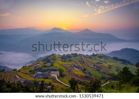 Beautiful scenery of Vietnam. Beautiful scenery of Vietnam #1530539471