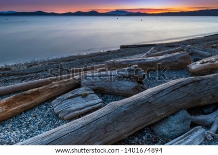 Beautiful scenics of landscapes waterscapes sunsets and lake reflections in Canada's pacific north west around Vancouver British Columbia Canada.  Fine art photography for home and office decor. #1401674894