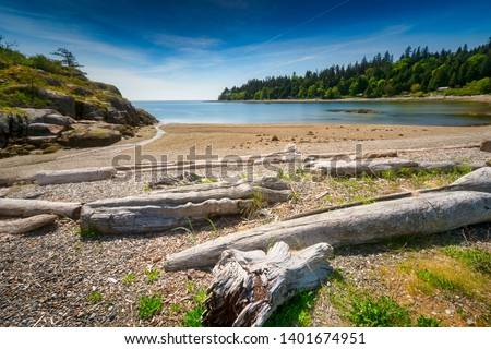 Beautiful scenics of landscapes waterscapes sunsets and lake reflections in Canada's pacific north west around Vancouver British Columbia Canada.  Fine art photography for home and office decor. #1401674951