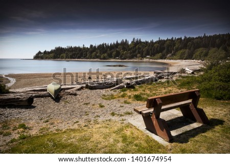 Beautiful scenics of landscapes waterscapes sunsets and lake reflections in Canada's pacific north west around Vancouver British Columbia Canada.  Fine art photography for home and office decor. #1401674954