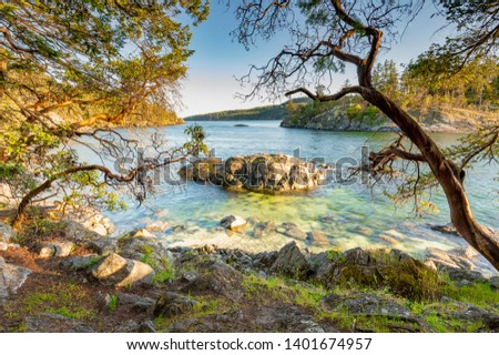 Beautiful scenics of landscapes waterscapes sunsets and lake reflections in Canada's pacific north west around Vancouver British Columbia Canada.  Fine art photography for home and office decor. #1401674957