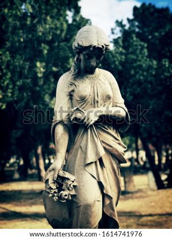 Beautiful Sculpture of beautiful Shy Maiden ,releasing her beauty in Pretoria