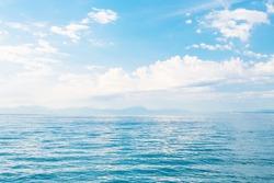 Beautiful sea and a blue sky