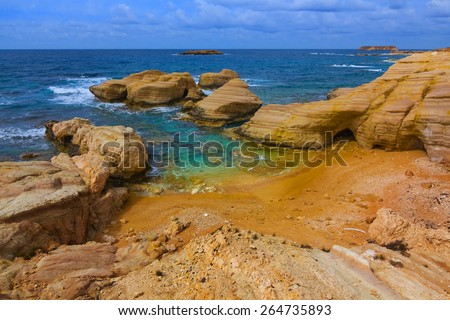 Beautiful Sea Beach Beautiful Sea Beach Sea Caves