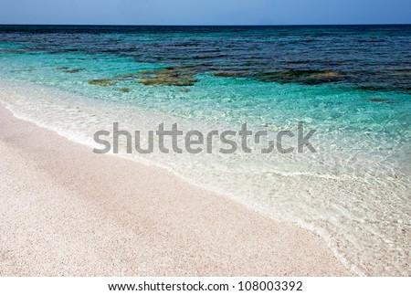 Beautiful sea in Sardinia - Italy
