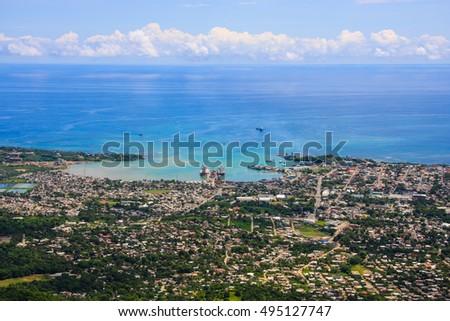 Shutterstock beautiful sea scape Puerto plata, Dominican republic