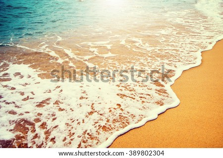 beautiful sea summer abstract...