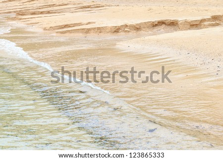 Beautiful sea summer or spring abstract background.