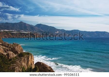 Beautiful sea view.