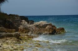 beautiful sea view in croatia, Pjescana Uvala, Croatia, adriatic coast