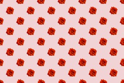 Beautiful seamless pattern with flowers roses