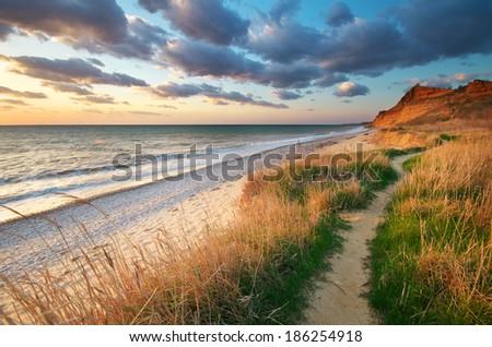 Beautiful seascape. Composition of nature. #186254918