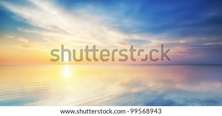 Beautiful seascape. Composition of nature. #99568943