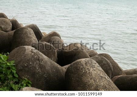Beautiful seaside landscape #1011599149