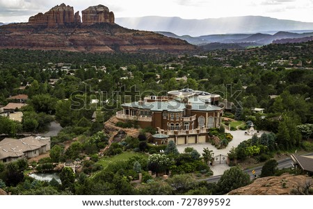 Beautiful Sedona Mansion/ Sedona Mansion/ Mansions of Sedona Arizona