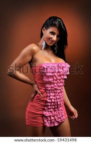 beautiful sensual woman portrait
