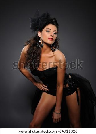 stock photo beautiful sexy cabaret girl dancing 64911826 Rough Sex For Dummies