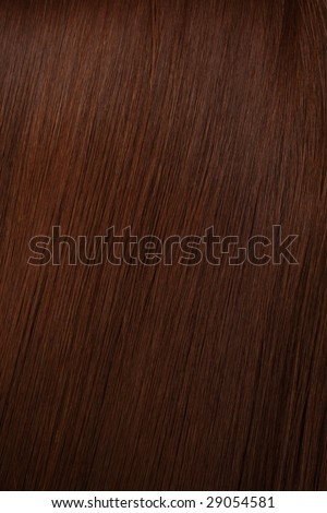 beautiful shine hair of brown colour