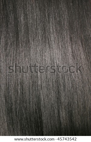 stock photo : Beautiful shiny black hair, texture, background