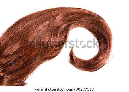 beautiful shiny healthy hair texture