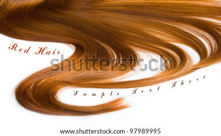 Beautiful shiny healthy hair texture