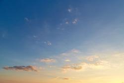 Beautiful sky background