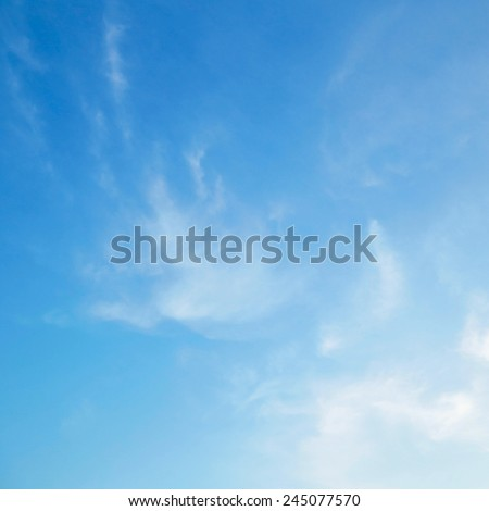 Beautiful sky background - Shutterstock ID 245077570