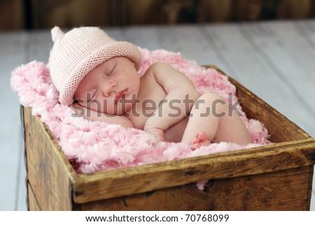 Beautiful sleeping newborn