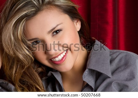 Beautiful Smiling Hispanic Girl