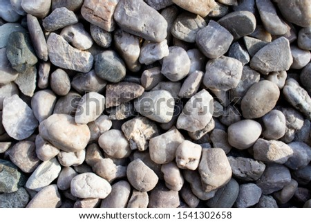 Beautiful smooth pebbles as a background