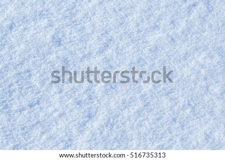 Beautiful snow background close up. #516735313