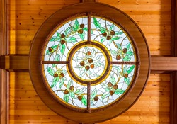 Beautiful stained window