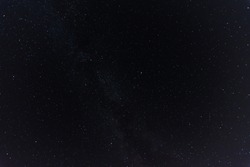 beautiful starry sky in the dark and black night sky