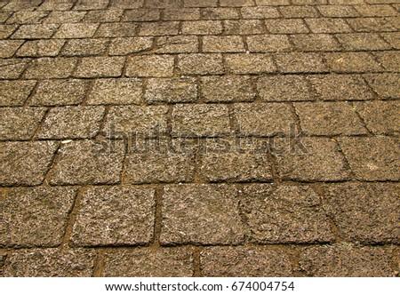 Beautiful stone path #674004754