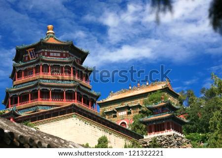 Beautiful Summer palace, Beijing, China #121322221