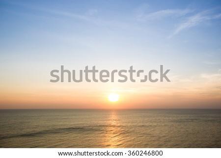 Beautiful sun shine in morning. #360246800
