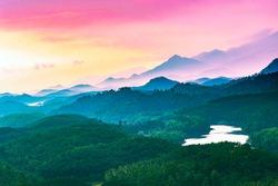 Beautiful Sunrice View from Kakkayam Kozhikode Kerala