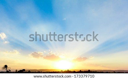 Beautiful Sunrise  #173379710