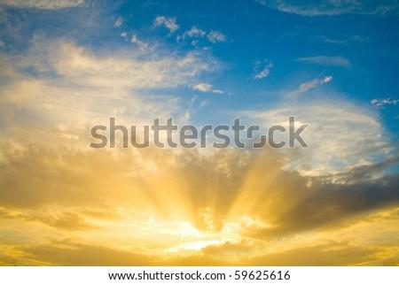 Beautiful Sunrise #59625616