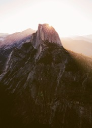 Beautiful Sunrise Of Yosemite National Park