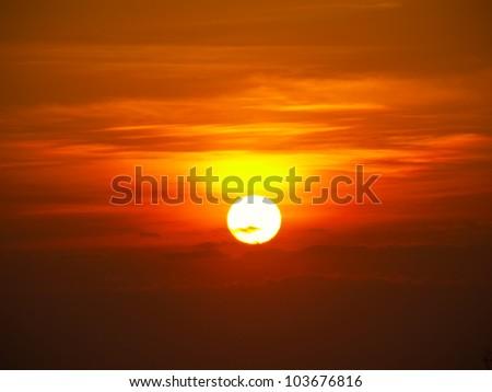 beautiful sunset #103676816