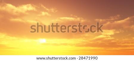 Beautiful sunset #28471990