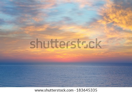 sea and ocean